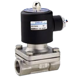 Fluid Electromagnetic Valve Direct Acting Type SAS Series (Two Positions/Two Ports) Normal Close Type (15 – 50A)