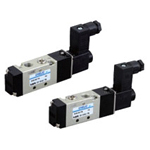 Electromagnetic valve, VLEV500 series, 3 ports, 2 positions