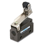 Mechanical Valve VLM15 Series - One-side Roller Type (Horizontal Piping/Standard Type)
