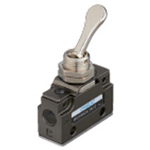 Hand-operated Valve VLM15 Series - Touch Type (Horizontal Piping/Standard Type)