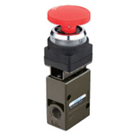 Manual valve VLM20 series interlock button type