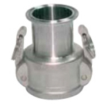 Sanitary Fitting, Special Component, DSF Ferrule × Arm Lock Coupler