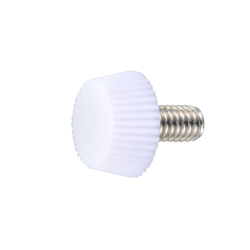 White UF Resin Decorative Screw - No.1