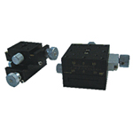 Manual XY Axis, Dovetail Feed Screw Type Stages: 24×30 / 40×40 / 60×60 mm [D2-2]