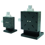 Manual Z Axis, Dovetail Feed Screw Type Stages: 24×30 / 40×40 / 60×60 mm