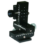 Manual XYZ Axis, Dovetail Gear Rack Type Stages: 40×40 / 40×60 / 40×80 / 40×100 / 40×120 / 40×140 mm [D3-4]