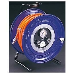 Urethane Air Hose Reel with Coupler EA124BC