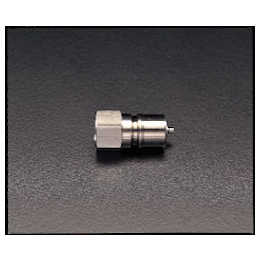 Stainless Steel Female Threaded Plug with Stop EA140AB-2