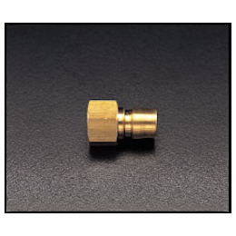 Brass Female Threaded Plug for Medium Pressure EA140AC-2
