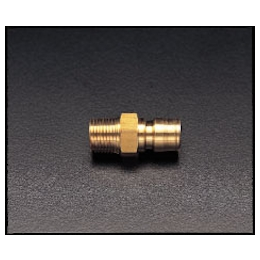 Brass Male Threaded Plug for Medium Pressure EA140AD-4