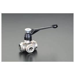 3-Way Ball Valve [Brass] EA470B-8
