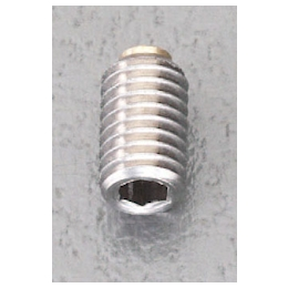 Set Screw with Hexagonal Hole [Stainless steel] (with Brass Pad) EA949DS-10