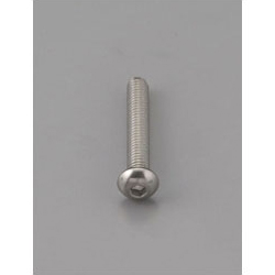 Button Head Bolt with Hexagonal Hole [Stainless Steel] EA949MF-306
