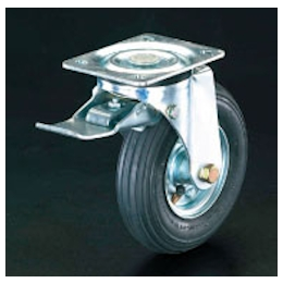 Swivel Caster (Pneumatic Tire/with Brake) EA986HH-3