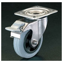 Swivel Caster (with Brake/Stainless Steel) EA986LB-0