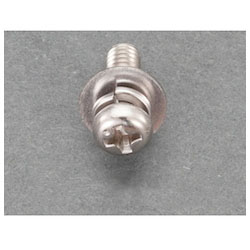 Pan Head Seems Machine Screw (Stainless Steel) (24 pcs) EA949AJ-231