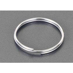 [Stainless Steel] Double Ring (10 pcs) EA638DP-15B