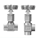 Stainless Steel, 9 MPa, Screw-In, Trace Control Valve with Degree Open Indicator