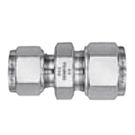 Stainless Steel, Dual Compressed Ring Model, Powerful Lock, (Reducing Straight Union)