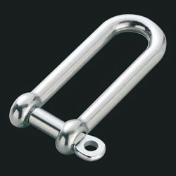 Long screw shackle