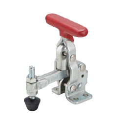 Toggle Clamp - Vertical-Handled - Solid Arm (Side Flange Base) GH-12080