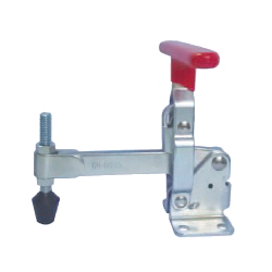 U-Shaped Arm Toggle Clamp, Vertical Handle, with Flanged Base, GH-12295