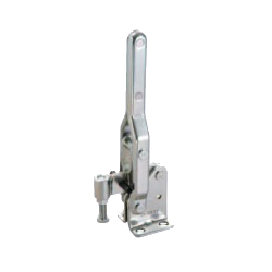 Toggle Clamp - Vertical Handle - Short Solid Arm (Flanged Base) GH-10448