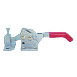 Toggle Clamp - Latch Type - Flanged Base, Pointed Hook, GH-40550