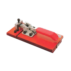 Toggle Clamp - Latch Type - Flanged Base, Pointed Hook, GH-40580
