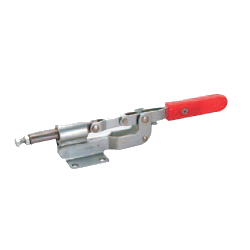 Toggle Clamp - Push-Pull - Flanged Base, Stroke 28 mm, Straight Handle, GH-36060