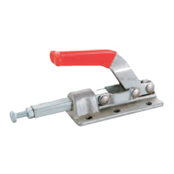 Toggle Clamp - Push-Pull - Flanged Base, Stroke 41.3 mm, Straight Handle, GH-30608M