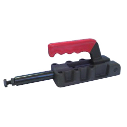Toggle Clamp - Push-Pull - Flanged Base, Stroke 50 mm, Straight Handle, GH-31200