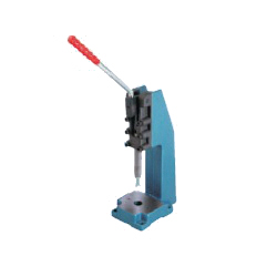 Toggle Clamp - Side-Push - Extruded Base, Stroke 75 mm, Straight Handle, GH-32500PR