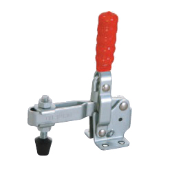 Toggle Clamp - Vertical Handle - U-Shaped Arm (Flanged Base) GH-12130/GH-12130-SS
