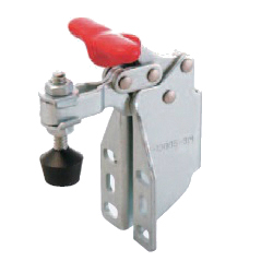 U-Shaped Arm Toggle Clamp, Horizontal Type, with Side Mount Flanged Base, T-Shaped Handle GH-13007-SM