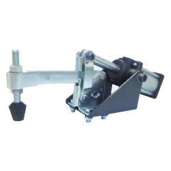 Solid Arm Pneumatic Clamp with Flanged Base, GH-12275-A