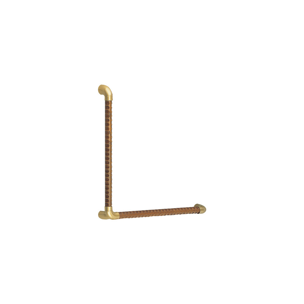 Triple Dimpled Handrail L Type BR-558