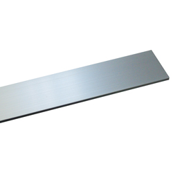 Aluminum Rectangular Bar (Silver)
