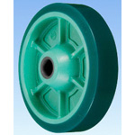 PNUA Type Resin Urethane Rubber Wheel (Sliding Bearings)