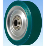 RF Type Heavy Duty Steel Plate Urethane Rubber Wheel