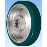 SUI Type Steel Plate Urethane Rubber Wheel.