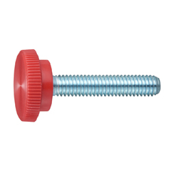 Red Round Thumbscrew