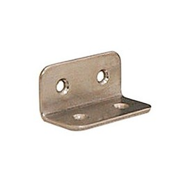 Stainless Steel Angled Bracket (for Placing Shelving)