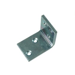 Bright Chromate Corner Bracket (for Placing Shelving)