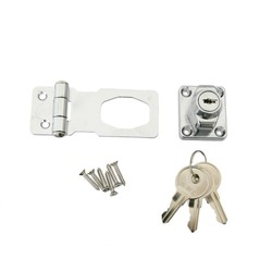 Latch Lock with Key