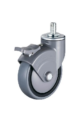 Silent Caster Swivel Type (with Stopper)