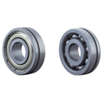 Deep Groove Ball Bearings with Wheel Groove, Single Shield Type / Open Type