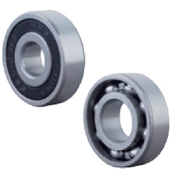 Deep Groove Ball Bearings, Non-Contact Rubber Sealed Type