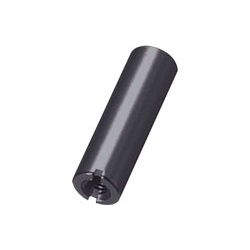 Aluminum Spacer (Round/Black Anodized) Slotted / ARL-SBE