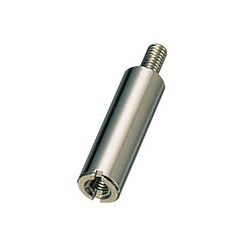 Aluminum Spacer (Round/Pickled) Slotted / BRL-SE